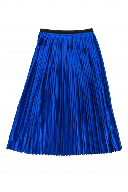 By Malene Birger Royal Pleated Skirt blue Image 2