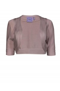Herve Leger Jackets Blush Cropped Cardigan