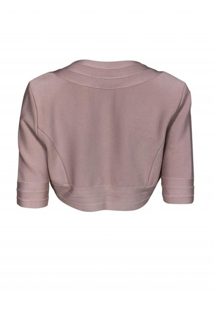 Herve Leger Jackets Blush Cropped Cardigan Image 2