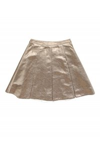 Kate Spade Metallic Rose Skirt gold