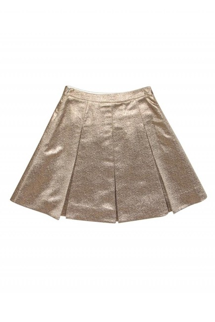 Kate Spade Metallic Rose Skirt gold Image 1