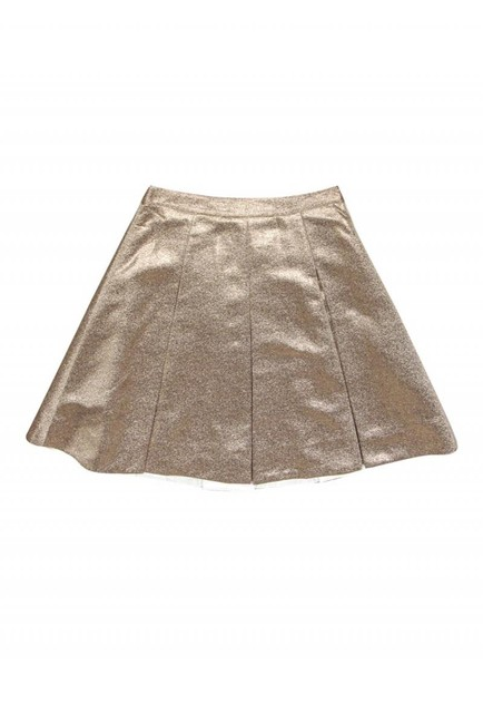 Kate Spade Metallic Rose Skirt gold Image 2