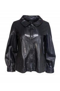 Theory Leather black Jacket