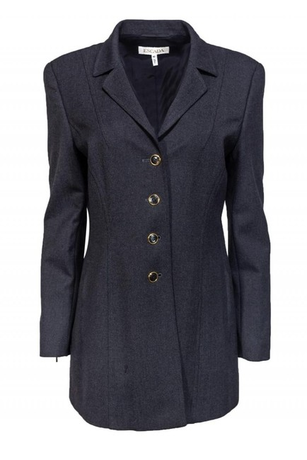 Escada Dark Grey Wool Jacket Image 0