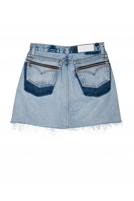 Levi's Redone Light Wash Denim Skirt blue Image 1