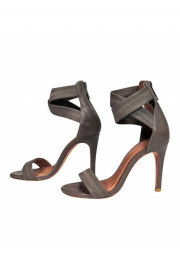 Joie Anklestrap Anklewrap Gray Pumps Image 2