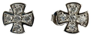 sterling silver Sterling Silver Multi Colored Cubic Zirconia Earrings