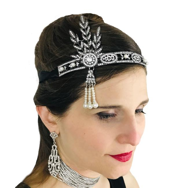 Details about  /Great Gatsby Flapper Girl Headpiece Roaring 20s Costume Bridal Crown