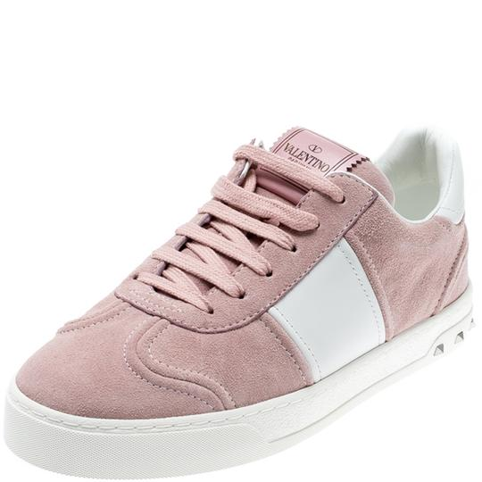 Preload https://img-static.tradesy.com/item/26117198/valentino-multicolor-lotobianco-suede-leather-flycrew-lace-up-sneakers-size-eu-38-approx-us-8-regula-0-0-540-540.jpg