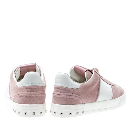 Valentino Suede Leather Multicolor Athletic Image 2