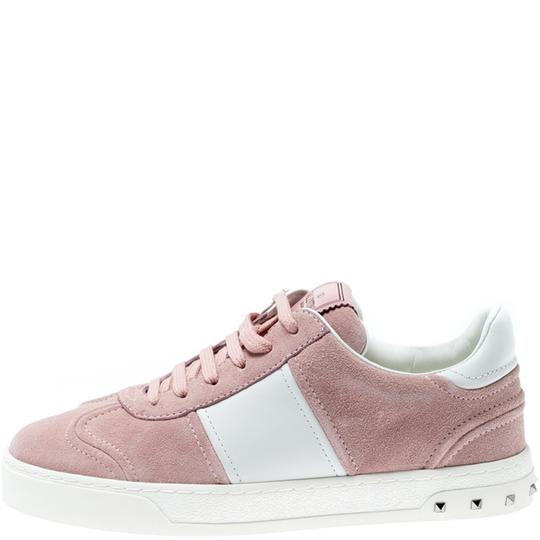 Valentino Suede Leather Multicolor Athletic Image 4