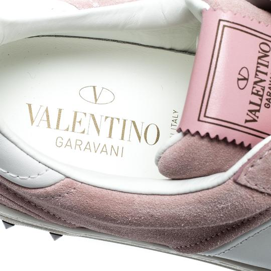 Valentino Suede Leather Multicolor Athletic Image 5