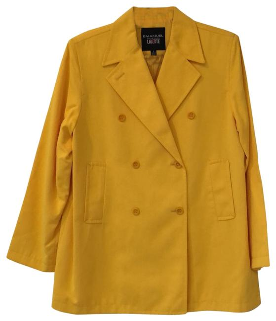 Preload https://img-static.tradesy.com/item/26117243/emanuel-ungaro-yellow-liberty-nylon-double-breasted-coat-size-10-m-0-1-650-650.jpg