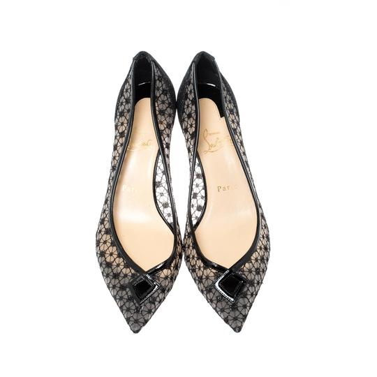 Christian Louboutin Pointed Toe Black Pumps Image 2