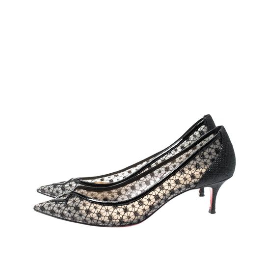 Christian Louboutin Pointed Toe Black Pumps Image 4