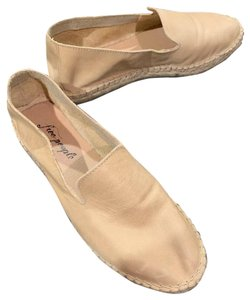 Free People camel Flats