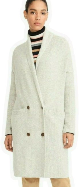 Preload https://img-static.tradesy.com/item/26117332/jcrew-white-double-breasted-cardigan-coat-in-supersoft-yarn-2x-sweatshirthoodie-size-22-plus-2x-0-1-650-650.jpg