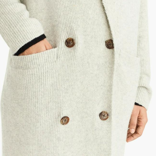 J. CREW Cardigan Coat Soft Sweatshirt Image 5
