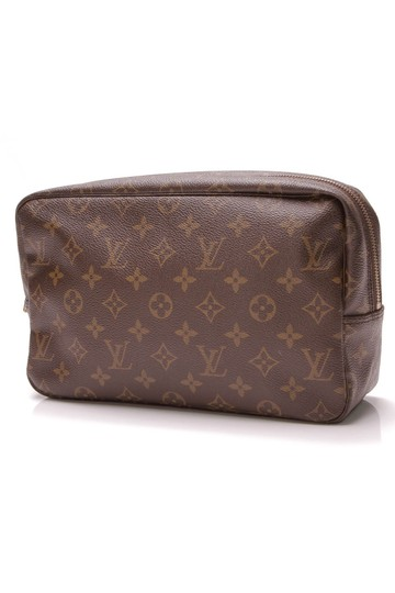 Louis Vuitton Brown Travel Bag Image 0