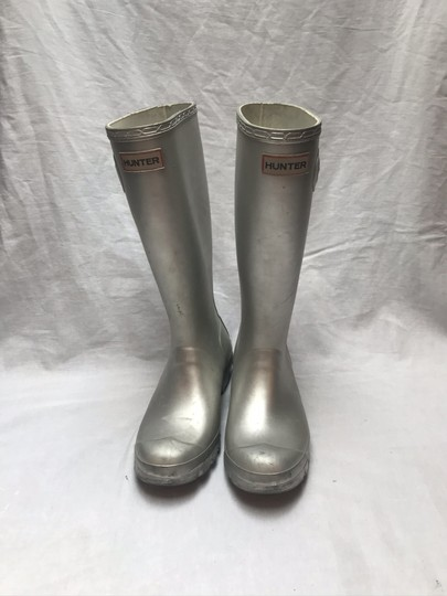 Hunter Silver Boots Image 4