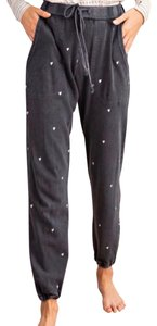 Easel Joggers Sweatpants Heart Soft Comfortable Athletic Pants Charcoal