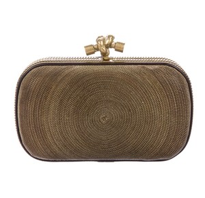 Bottega Veneta gold Clutch