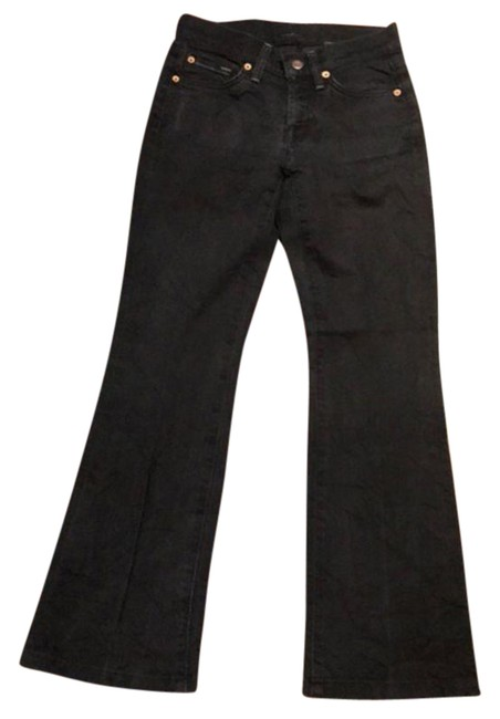 Preload https://img-static.tradesy.com/item/26117933/7-for-all-mankind-black-boot-cut-jeans-size-25-2-xs-0-1-650-650.jpg