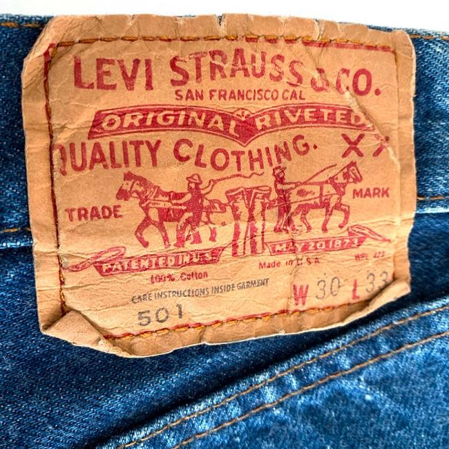 Levi's Denim Shorts Image 4