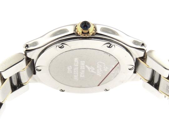 Cartier Ladies Cartier Must 21 1340 18K Yellow Gold & SS 28mm Watch Image 3