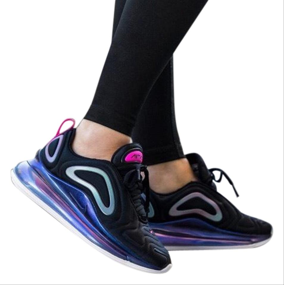 Nike Black Women's Air Max 720 Se Laser Fuchsia Offers More Air Underfoot For Unimaginable All day Comfort. Sneakers Size US 9 Narrow (Aa, N) 12% off