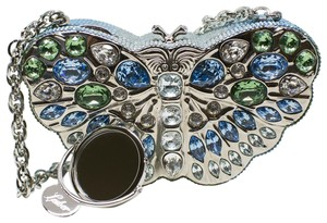 Judith Leiber Butterfly Novelty Couture New York Multi-Color Clutch