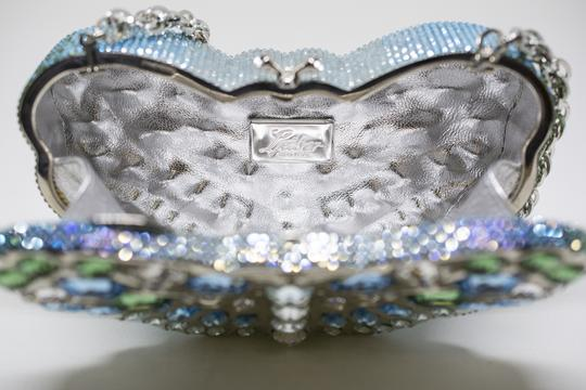 Judith Leiber Butterfly Novelty Couture New York Multi-Color Clutch Image 5
