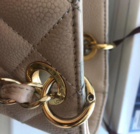 Chanel Leather Chic Tote in Beige Image 2