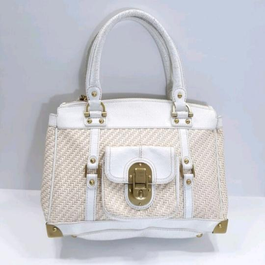Rafe New York Satchel in White Image 1