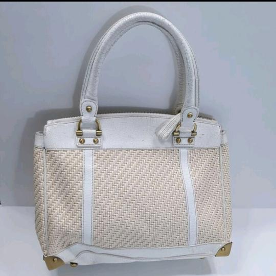 Rafe New York Satchel in White Image 6