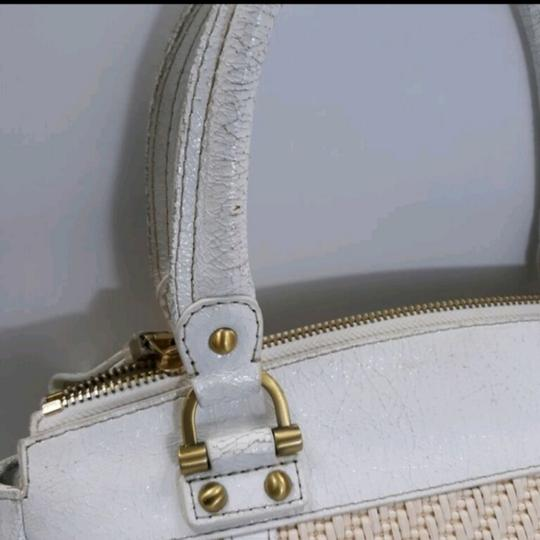 Rafe New York Satchel in White Image 7