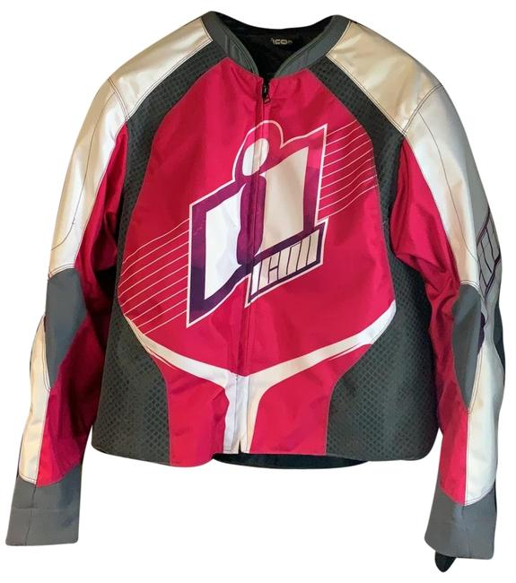 Preload https://img-static.tradesy.com/item/26118029/icon-pink-and-white-overlord-street-dreams-jacket-size-16-xl-plus-0x-0-1-650-650.jpg