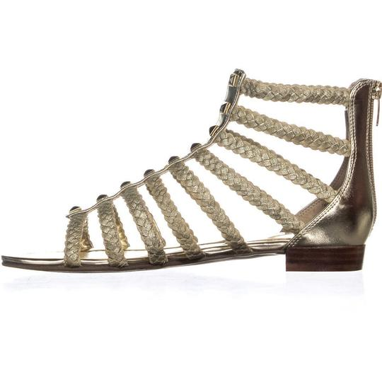Marc Fisher Gold Sandals Image 1