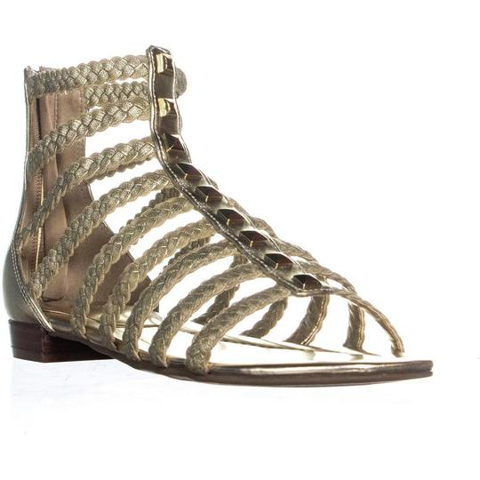 Marc Fisher Gold Sandals Image 2