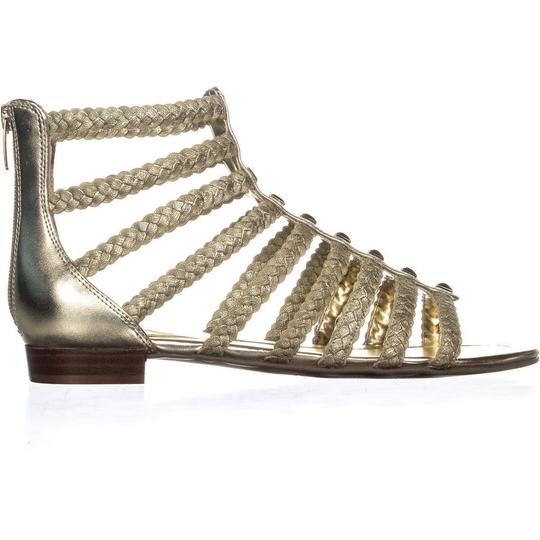 Marc Fisher Gold Sandals Image 3