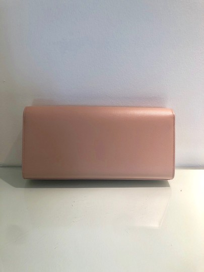 Saint Laurent Pale Pink Clutch Image 2