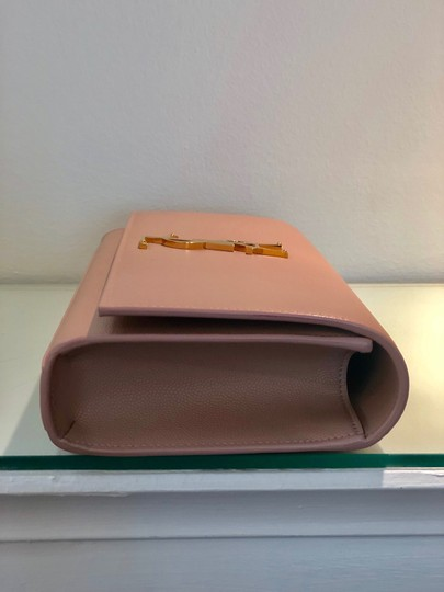 Saint Laurent Pale Pink Clutch Image 3