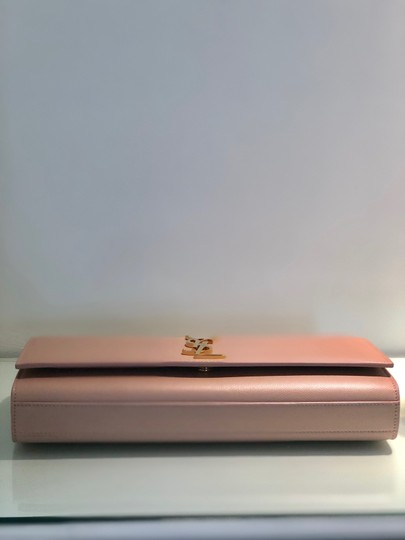 Saint Laurent Pale Pink Clutch Image 4