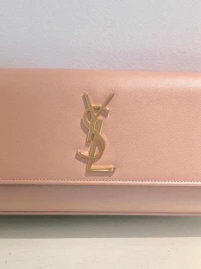 Saint Laurent Pale Pink Clutch Image 7