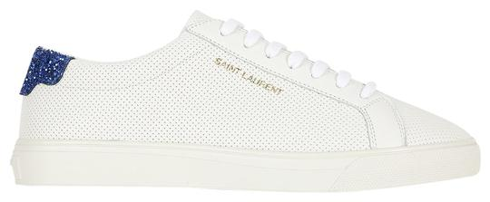 Preload https://img-static.tradesy.com/item/26118089/saint-laurent-white-df-blue-heel-perforated-andy-6-sneakers-size-eu-36-approx-us-6-regular-m-b-0-1-540-540.jpg