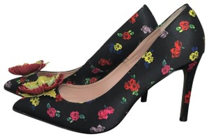 Betsey Johnson Black, red, pink Pumps