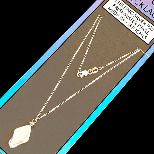 Island Sunset Artisan Accessories Dainty Chain Necklace .925 Image 3