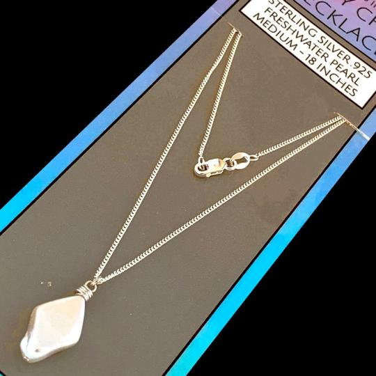 Island Sunset Artisan Accessories Dainty Chain Necklace .925 Image 4