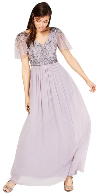 Preload https://img-static.tradesy.com/item/26118100/adrianna-papell-lilac-grey-illusion-sleeve-beaded-a-line-gown-long-formal-dress-size-6-s-0-1-650-650.jpg