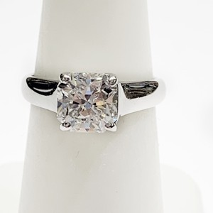 Tiffany & Co. GORGEOUS!! BRILLIANT!! Tiffany & Co. Platinum GIA Certified Lucida Solitaire Diamond Ring